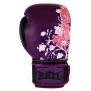 Boxerské rukavice 10 oz kůže Royal BAIL Purple