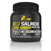 OLIMP GOLD SALMON 12000 Amino 300 tablet + 5 vzorků BCAA XPLODE zdarma!