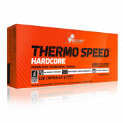 OLIMP Thermo Speed HARDCORE 120 kapslí + 5 vzorků Gain Bolic ZDARMA!