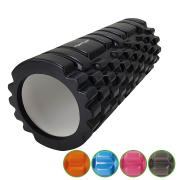 Masážní válec Foam Roller TUNTURI 33 cm / 14 cm černý