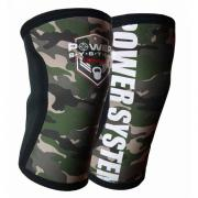 Kolenní bandáže Knee Sleeves Camo POWER SYSTEM