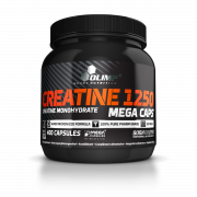 OLIMP Creatine 1250 mg Mega Caps 400 kapslí + 5 vzorků gaineru PROFI MASS zdarma!