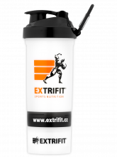 EXTRIFIT Shaker Triple 600 ml transparent