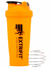 EXTRIFIT Shaker 600 ml oranžový