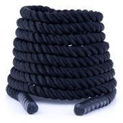 Posilovací lano Battle rope 15 m DBX BUSHIDO