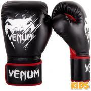 Boxerské rukavice - dětské Contender Kids černé/červené VENUM