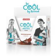 NUTREND Cool Protein Shake 5x50 g čokoláda + Shaker ZDARM
