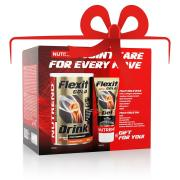 NUTREND Flexit Gold Drink 400 g pomeranč + Flexit Gold Gel 100 ml