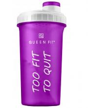 Shaker 700 ml Too fit Too quit QUEENFIT