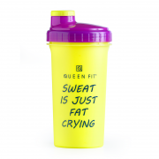 Shaker 700 ml Sweat is just fat crying QUEENFIT