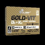 OLIMP Gold-Vit D3 + K2 Sport Edition 60 kapslí