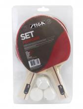 STIGA Set Perform - 2 pálky a 3 míčky