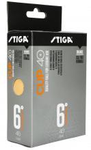 STIGA CUP ABS orange 6-pack