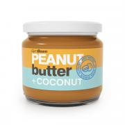 GymBeam arašídové máslo s kokosem 340 g