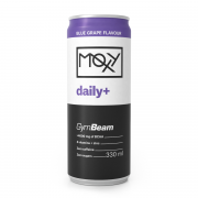 GymBeam Moxy Daily+ 330 ml modré hrozny
