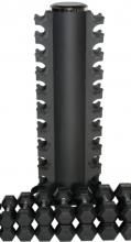 Posilovací stojan Stojan na hexagonální činky (1-10kg) STRENGTHSYSTEM