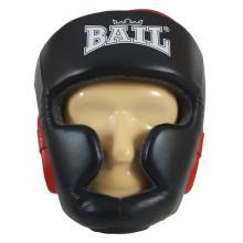 Boxerská přilba - kůže Sparring s ochranou brady BAIL  vel. S černá