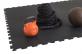 TRINFIT Sportovní gumová podlaha do fitness_puzzle_50_50_černá_5cg