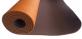 Jóga podložka TPE Profi oranžová hnědá
