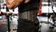 Fitness opasek nylonový HARBINGER FirmFit nasazení