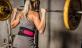 Dámský fitness opasek nylonový HARBINGER dřep
