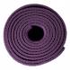 Jóga podložka TUNTURI PVC 4 mm purpur smotaná