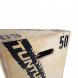 Plyometrická bedna dřevěná TUNTURI Plyo Box detail spoje
