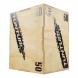 Plyometrická bedna dřevěná TUNTURI Plyo Box na stojato