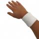 Potítko na zápěstí TUNTURI bílé pár ruka