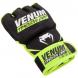 MMA rukavice Training Camp černé neo žluté VENUM hřbet