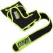 MMA rukavice Training Camp černé neo žluté VENUM omotávka délka