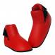 Chrániče na nárty - botička BAIL červené