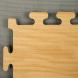 Tatami Wood 100 x 100 x 3 cm X-gym šedá-dřevo  detail 1