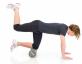 Pilates pěnový válec Foam Roller 45 cm TOGU antracitový workout 1